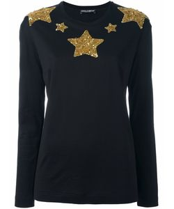 Dolce & Gabbana | Star Sequinned Jumper
