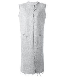 Maison Margiela | Пальто Без Рукавов С Необработанными Краями