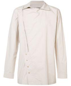 D-GNAK   Рубашка С Асимметричной Молнией