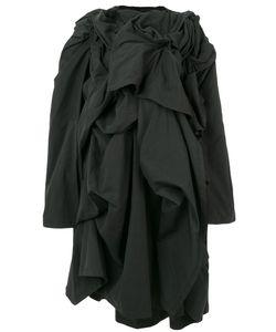 Yohji Yamamoto | Пальто С Декоративными Сборками