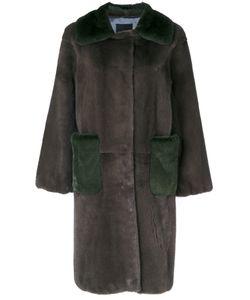 Liska | Свободное Двухцветное Пальто