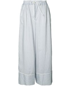Sacai | Wide-Fit Pinstripe Trousers 1