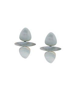 MONIES | Stacked Beads Clip On Earrings