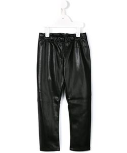 Simonetta | Leather Effect Trousers 8 Yrs
