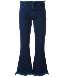 Marques Almeida | Marquesalmeida Frayed Edge Fla Jeans 6 Cotton