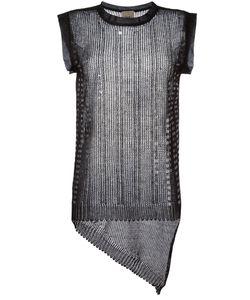 Nude | Sequin Panel Vest Size