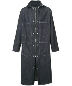 Black Fist | Длинное Пальто На Молнии