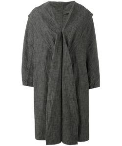 Y'S | Shawl Lapel Loose-Fit Coat