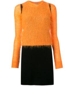 WALTER VAN BEIRENDONCK VINTAGE | Mohair Overlay Dress Size Small