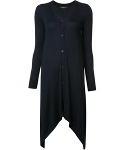 Derek Lam | Long Asymmetric Cardigan Small Silk/Cashmere