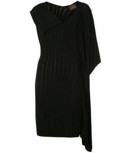 Vivienne Westwood Anglomania | Asymmetric Sleeves V-Neck Dress Medium