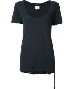Ksubi | Scoop Neck T-Shirt Xs Cotton/Silk