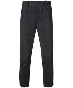 OUTERKNOWN | Cropped Check Trousers