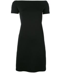 Helmut Lang | Boat Neck Fitted Dress Size Small