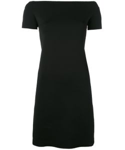 Helmut Lang | Boat Neck Fitted Dress