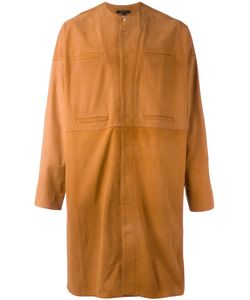 Qasimi   Concealed Fastening Collarless Coat Size 15