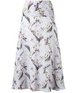 Cacharel | Платье Средней Длины С Растительным Принтом
