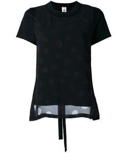 Comme Des Garçons Noir Kei Ninomiya | Layered Dotted T-Shirt