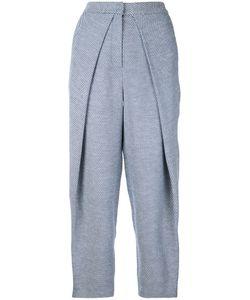 Bianca Spender | Tweed Curvature Trousers Women