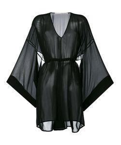 Isabel Benenato | Прозрачное Платье С Расклешенными Рукавами