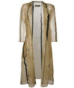 UMA WANG | Полосатое Пальто