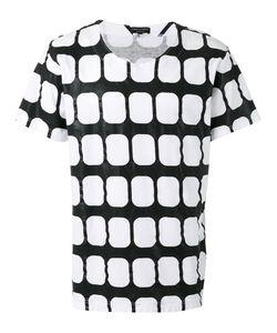 COMME DES GARCONS HOMME PLUS | Comme Des Garçons Homme Plus Geometric T-Shirt Size Large