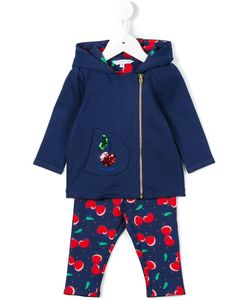 Little Marc Jacobs | Cherry Print Tracksuit Set Infant 6 Mth