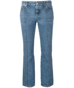 Alexander McQueen | Cropped Flared Jeans
