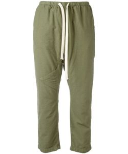 Free City   Freecity Drawstring Cropped Pants Small Hemp