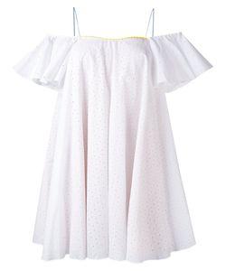 ANNA OCTOBER | Платье С Английской Вышивкой