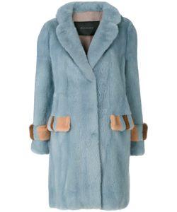 Blancha   Fur Detail Coat