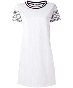 Kenzo | Logo Print T-Shirt Dress Medium Cotton