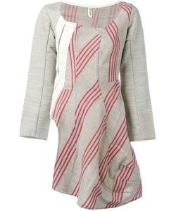 Comme Des Garcons | Асимметричное Платье В Полоску Vintage