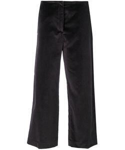 Fabiana Filippi | Wide Leg Cropped Trousers Women Cotton/Viscose/Polybutylene