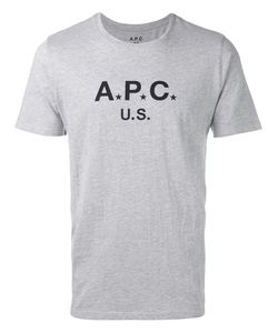 A.P.C. | Logo T-Shirt Large Cotton/Polyester