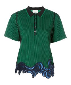 3.1 Phillip Lim | Sequin Embroidered Polo Shirt