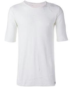 Nostra Santissima | Distressed T-Shirt Large Cotton