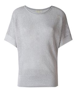 Michael Michael Kors | Perforated Sweatshirt Xs Cotton/Acrylic/Polyester Fibre
