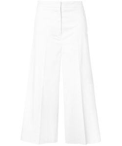 Rochas   Flared Cropped Trousers 42