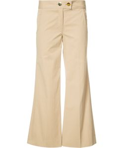 Derek Lam | Flared Cropped Trousers