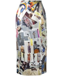 Christopher Kane | Cut-Out Midi Skirt Size 40