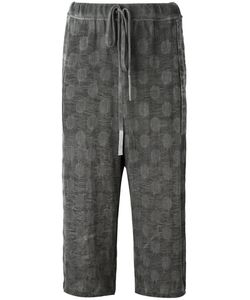 Lost & Found Ria Dunn | Cropped Drawstring Trousers Size Medium