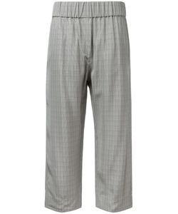 Alberto Biani | Checked Cropped Trousers Size 44