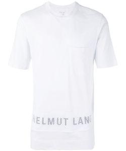 Helmut Lang | Футболка С Логотипом