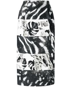 Max Mara | Plant Print Pencil Skirt