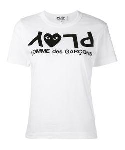Comme des Gar ons Play | Logo Print T-Shirt
