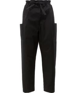 Maison Rabih Kayrouz | Side Pockets Belted Trousers 36
