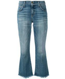 Current/Elliott | Cropped Flip Flop Jeans 25 Cotton/Polyester/Spandex/Elastane