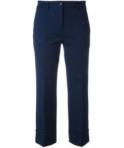 L' Autre Chose   Lautre Chose Cropped Trousers 44 Cotton/Polyamide/Spandex/Elastane