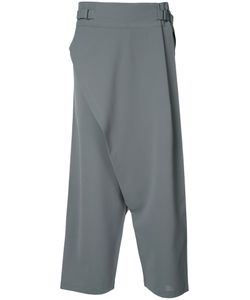 132 5. ISSEY MIYAKE | Drop-Crotch Cropped Trousers